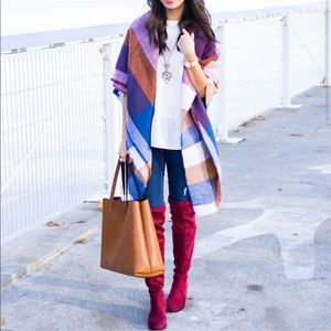 ASOS check blanket scarf